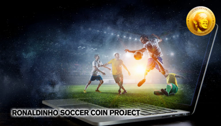 No More Waiting - Ronaldinho Soccer Coin Crowdsale Goes Live