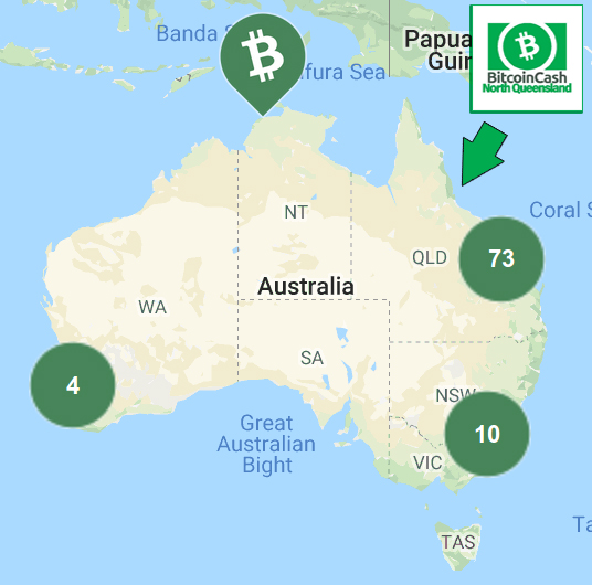 North Queensland is Becoming a Hub of BCH Accepting Businesses