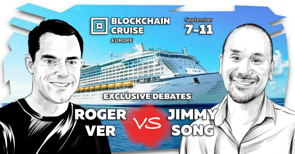 Roger Ver and Jimmy Song Will Debate Bitcoin on a Boat