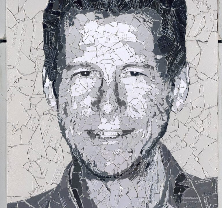 Cryptograffiti's Latest 'Running Bitcoin' Portrait Sees Auction Bids for Over $ 30K