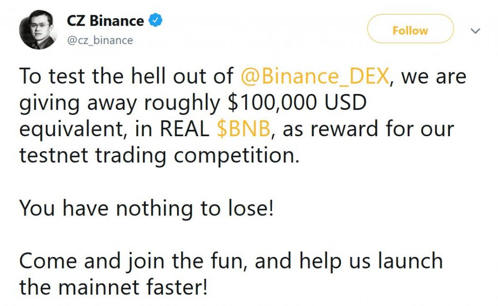 In the Daily: Binance Trading Competition, Bitdeer BCH Mining Plan, Voyager Merges Ethos
