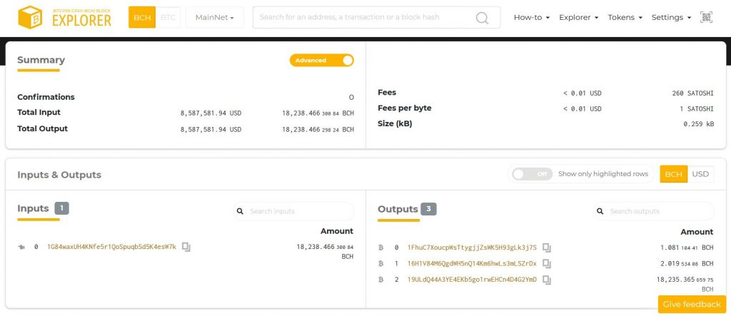 How to Check Bitcoin Cash Transactions With a Block Explorer