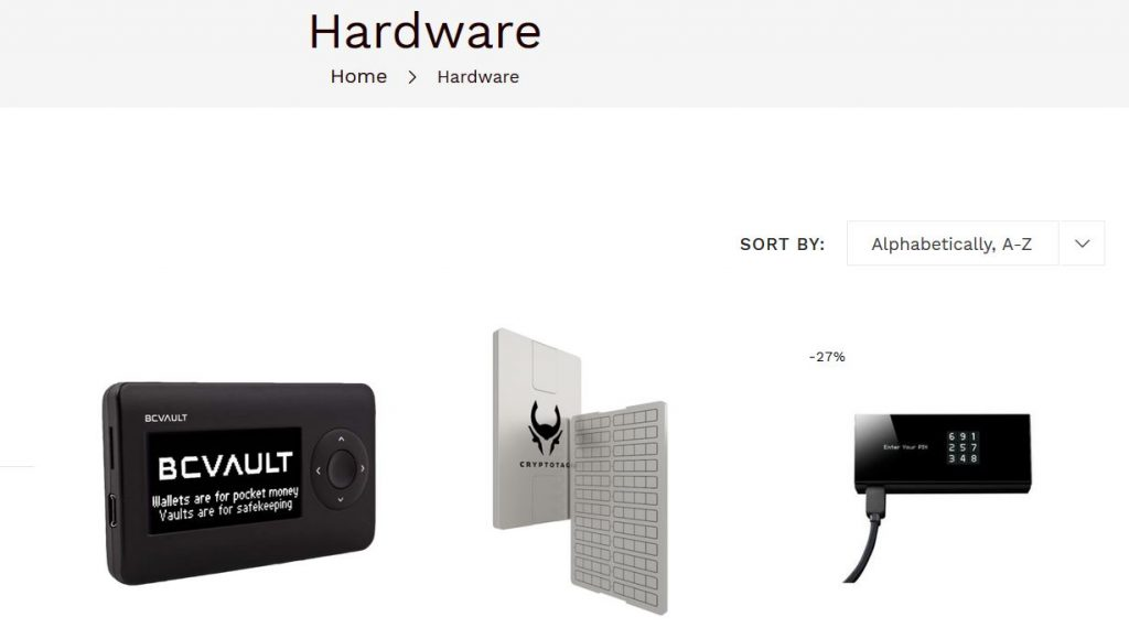 How to Buy a Cryptocurrency Hardware Wallet With Bitcoin Cash