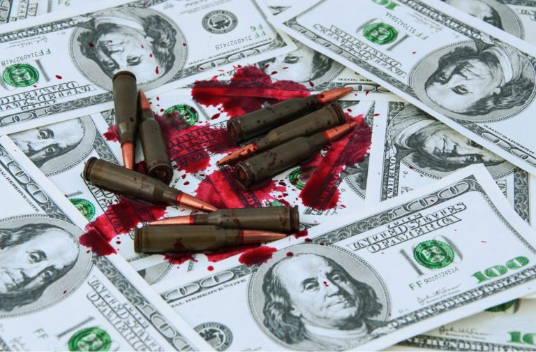 Sorry, I Don't Want to Pay for More Bombs: Bitcoin as a Hedge Against Funding War