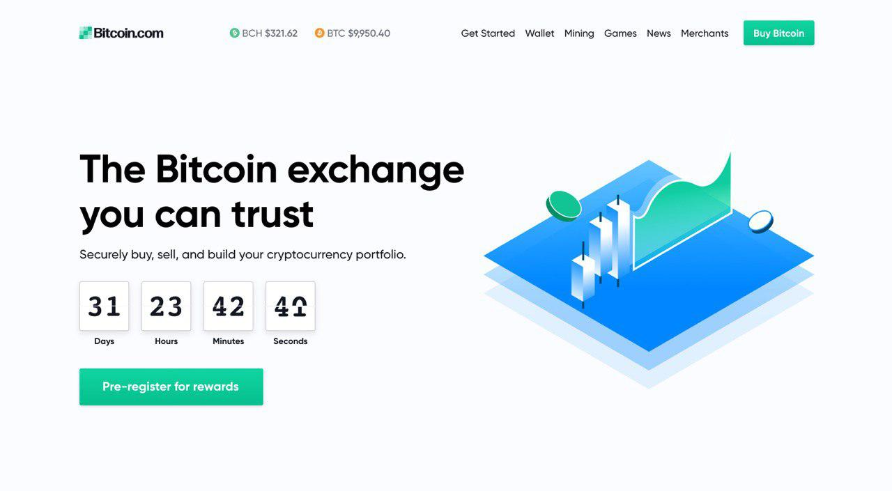 Pre-Register for Bitcoin.com's New Crypto Exchange to Win Bitcoin Cash Prizes