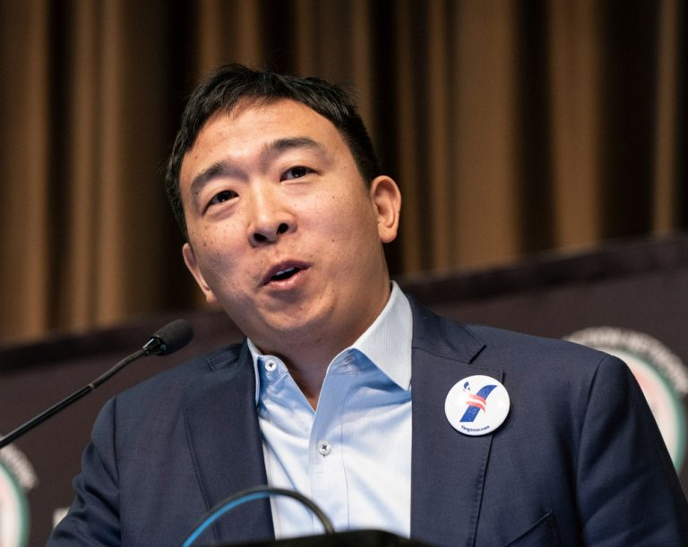 Sure, Musk Supports Yang - But Does Andrew Yang Really Support Bitcoin?