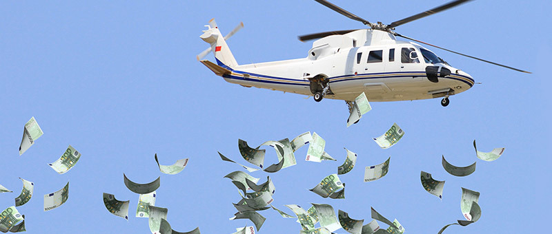 Central Banks in Panic Mode – Extreme Tactics Like Helicopter Money Discussed
