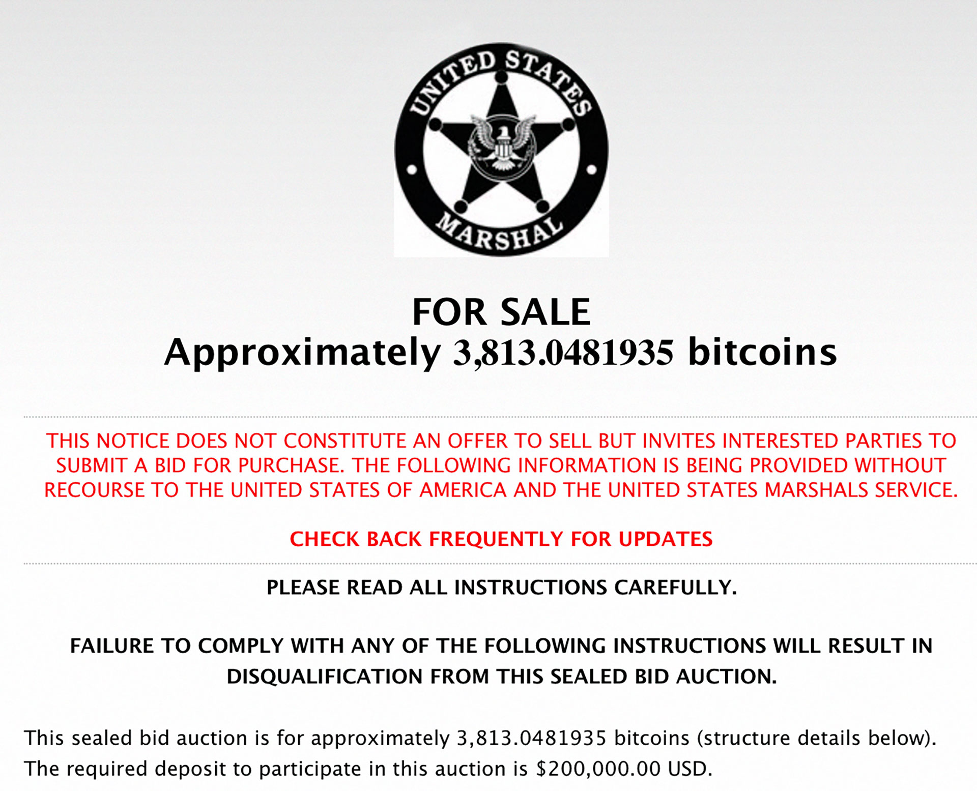 Global Law Enforcement Has Auctioned Massive Amounts of Bitcoin